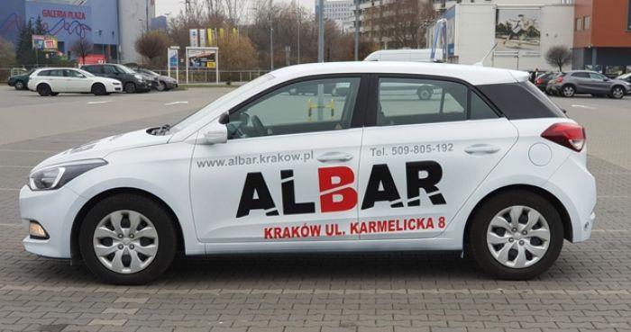 albar szkoła jazdy Kraków